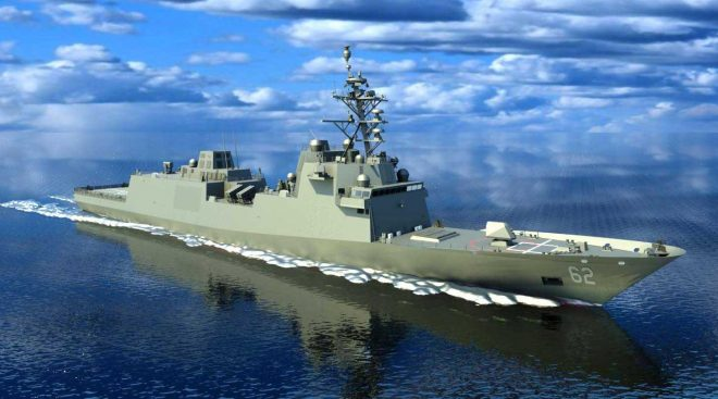 Navy: First Constellation Frigate Will Start Fabrication This Year as Shipyard Expands
