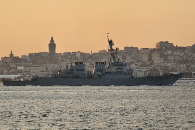 Two U.S. Destroyers in Black Sea, Russians Say U.S. Military Presence Boosts Instability
