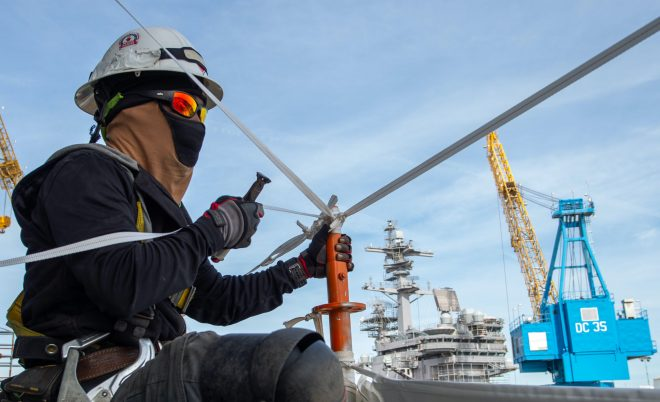 NAVSEA: Navy Could Accelerate Some Public, Private Shipyard Upgrades If Money Were Available