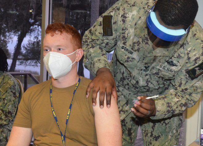 Navy: 70% Sailors Who Are Offered COVID Vaccine Have Accepted, As Service Campaigns for More Vaccinations
