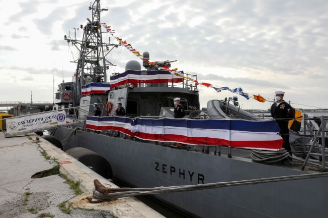 Navy Decommissions 3 Cyclone Patrol Craft; Looking to Shelve Mark VI Patrol Boat