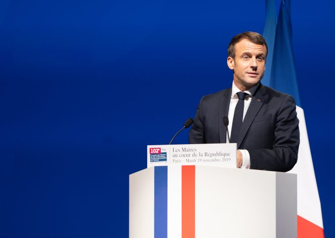 French President Macron Calls For European 'Strategic Autonomy'