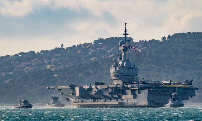 French Carrier Strike Group Begins 2021 Deployment