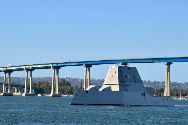 Zumwalt Destroyer Will Control Unmanned Ships, Aircraft in Upcoming Fleet Battle Problem