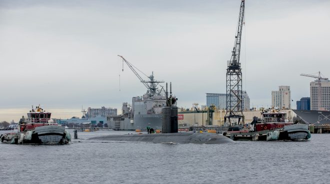 CBO: Navy Still Needs Bigger Workforce To Dig Out of Submarine Maintenance Backlog