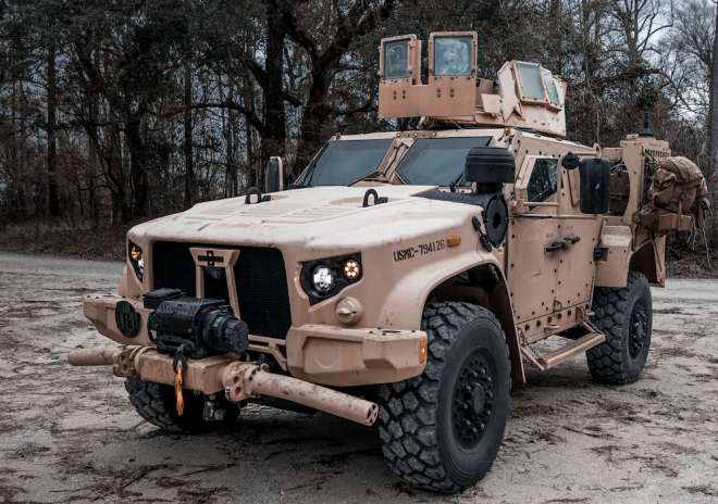 East Coast Marines Deploy with JLTVs for the First Time