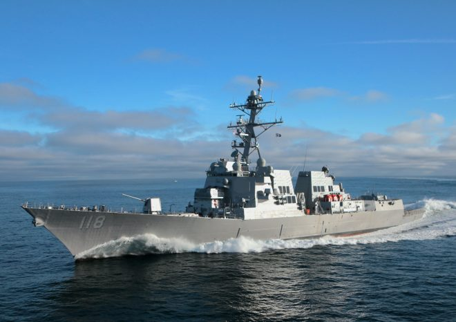 Destroyer Daniel Inouye Delivers to Navy as Bath Iron Works Picks at Backlog