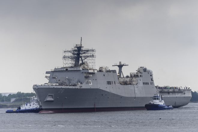 Report to Congress on Amphibious Warship Programs