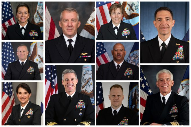 New Navy Fleet Commanders in Pacific, Middle East Nominated; New Picks for N9, Inspector General