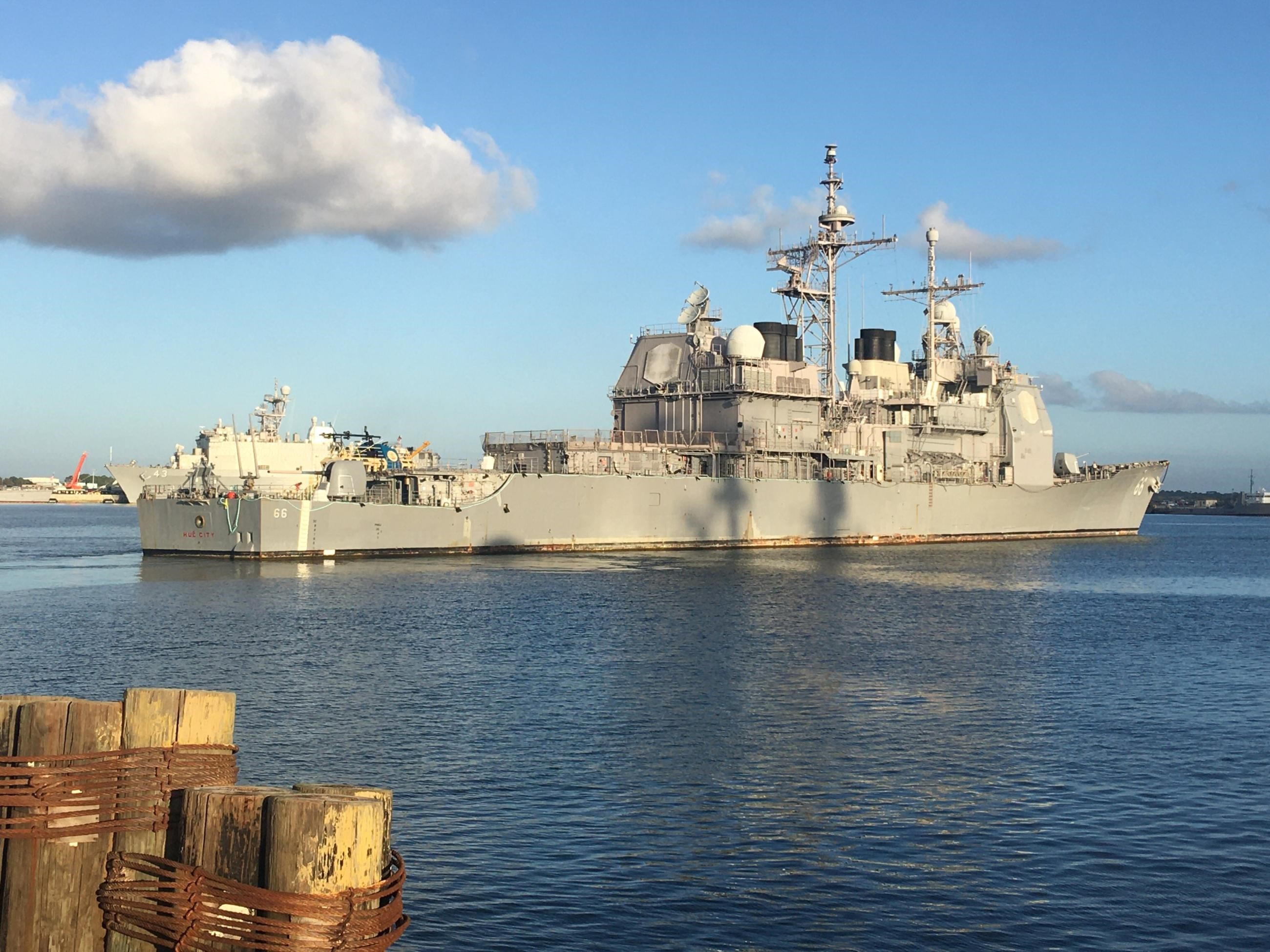 Wittman: Navy Needs Money in its Budget for Modernization, But Not From Cutting Cruisers