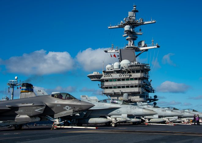 Navy Adjusts F-35C Squadron Size to End Fighter Shortfall by 2025