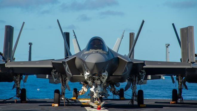 First F-35C Air Wing Ready to Bring 5th-Gen Fighters to Carrier Strike Group
