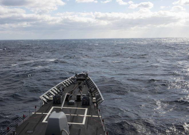 Cruiser USS Vella Gulf Back on Deployment After Sea Trials, 2 Months of Repairs