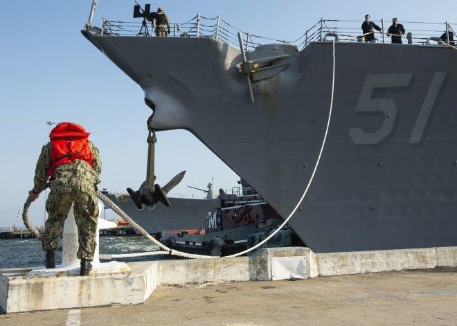 USS Arleigh Burke Arrives in Spain, USS Donald Cook Will Head to Mayport