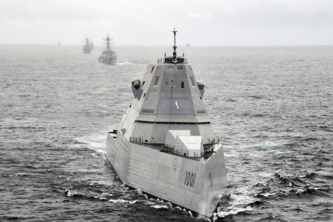CNO: Hypersonic Weapons at Sea to Premiere on Zumwalt Destroyers in 2025