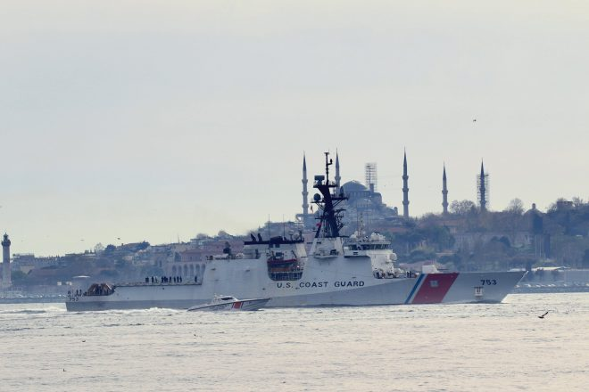 Russia Tracking First U.S. Coast Guard Cutter Visit to the Black Sea in More than 12 Years