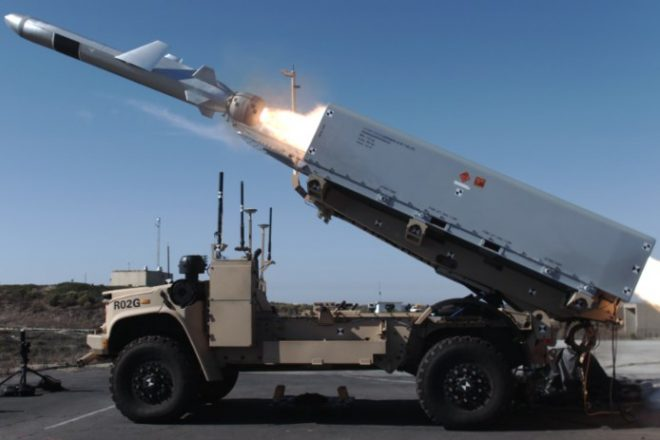 First Image of Marines' New Anti-Ship Missile Unmanned Truck Emerges