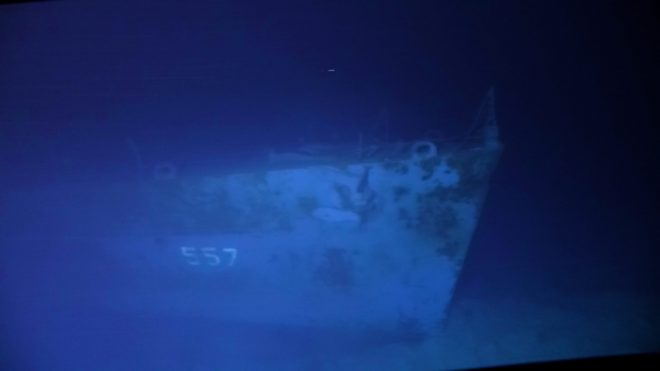 VIDEO: Famed WWII Destroyer USS Johnston Discovered 4 Miles Down