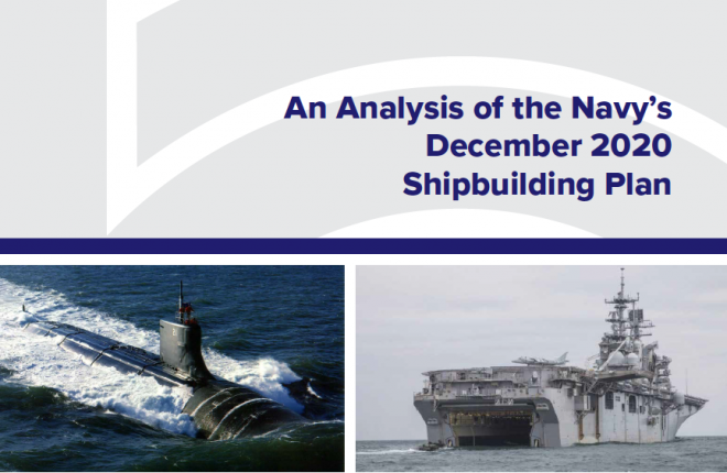 Congressional Budget Office Analysis of the Navy's December 2020 Shipbuilding Plan