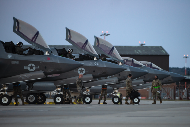 Blended U.S. Marine, U.K. Royal Air Force Air Wing Aboard HMS Queen Elizabeth Will be Largest F-35 Deployment to Date