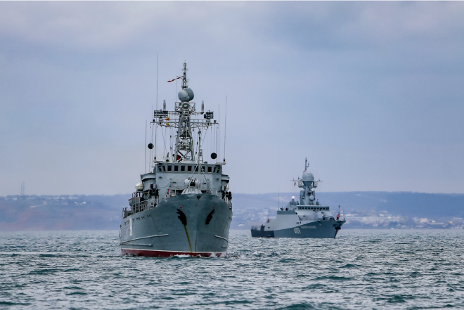 Panel: Russian Navy Expanding Presence in the Mediterranean Sea, Africa