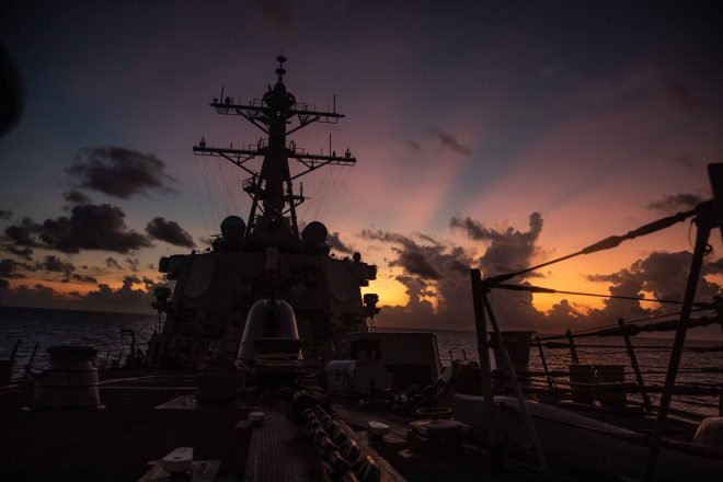 U.S. 7th Fleet Denies Chinese Claim American Destroyer Was 'Expelled' from South China Sea Island Chain