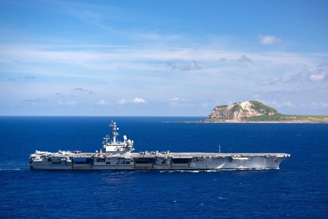 Japan-based Carrier USS Ronald Reagan Will Make Rare Middle East Patrol to Cover Afghanistan Withdrawal