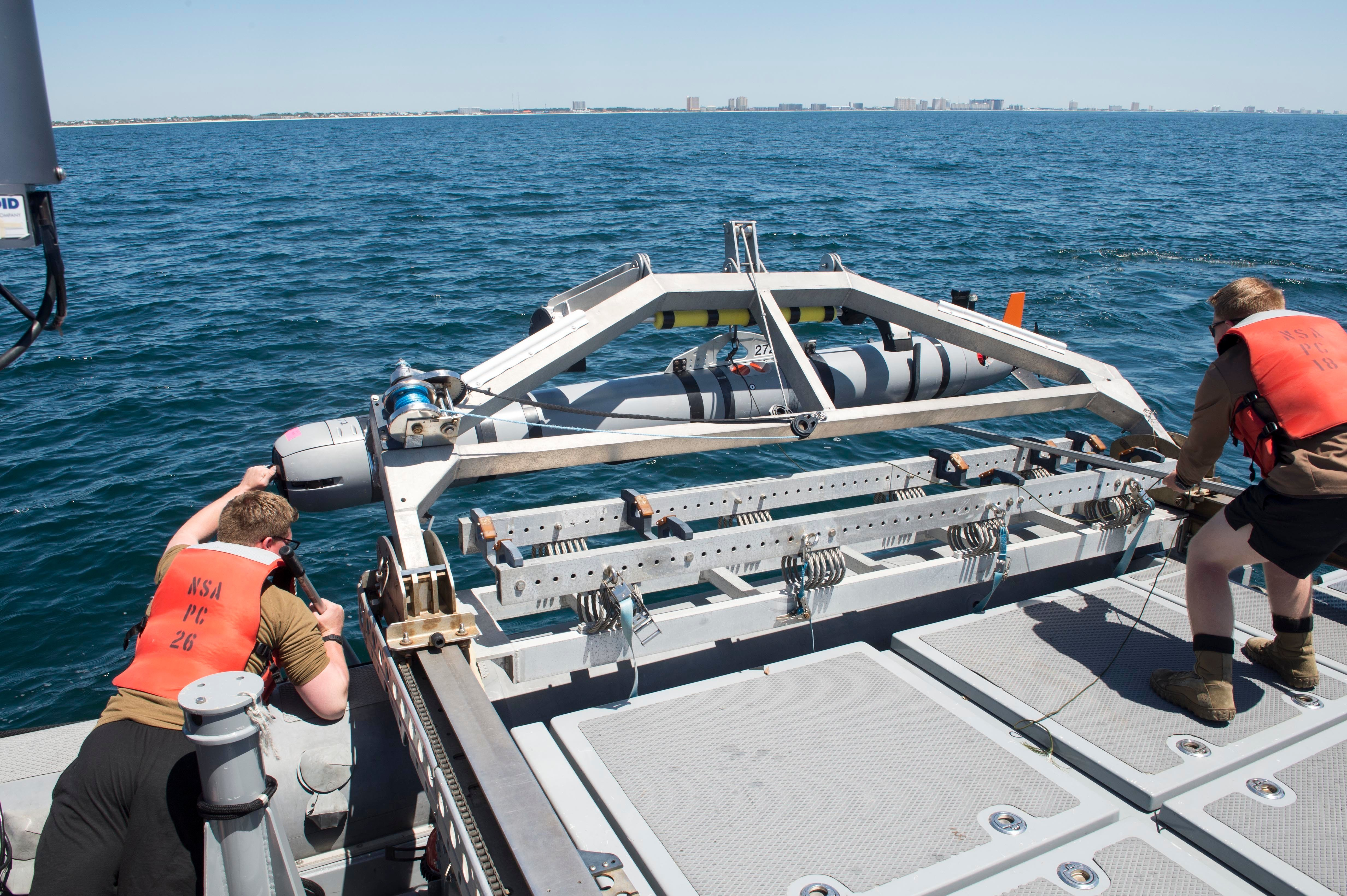Expeditionary Mine Countermeasures Community Advancing Technology, Tactics for High-End Fight