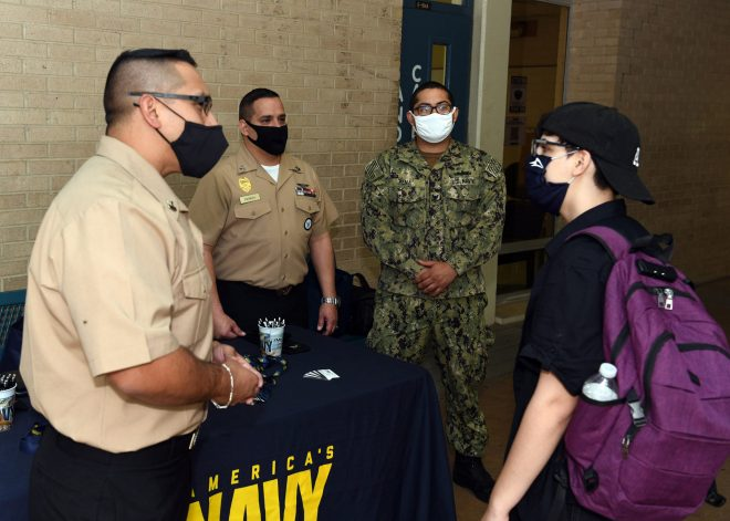 Nowell: Navy's Fully Digital Recruiting Outreach Helped Achieve Service's Goals Despite Pandemic