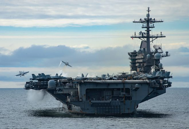 USS Theodore Roosevelt Heading to Bremerton After Back-to-Back Deployments