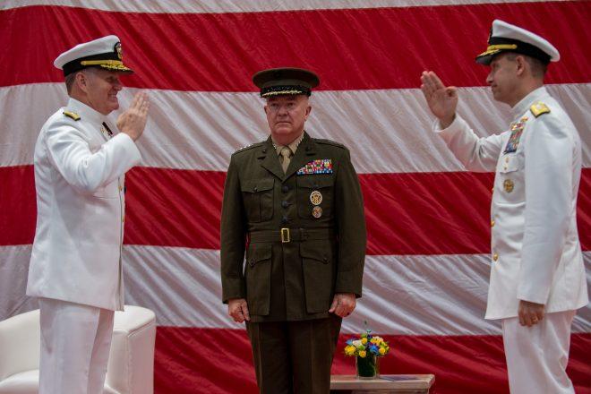 Paparo Takes Command of U.S. Pacific Fleet, Cooper Now Leading U.S. 5th Fleet