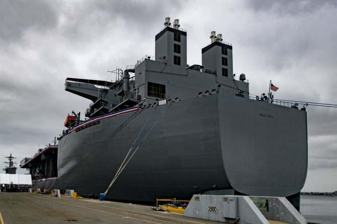 Navy Commissions USS Miguel Keith in California