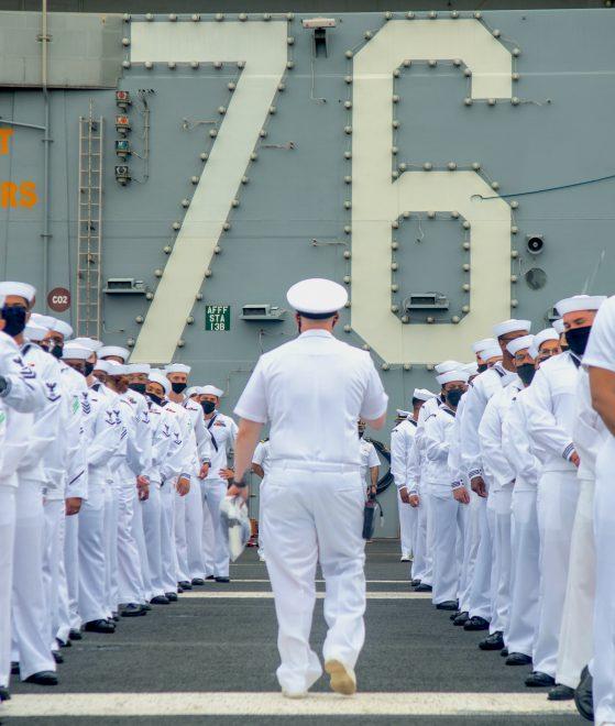 Carrier USS Ronald Reagan Leaves Japan Ahead of Spring Patrol