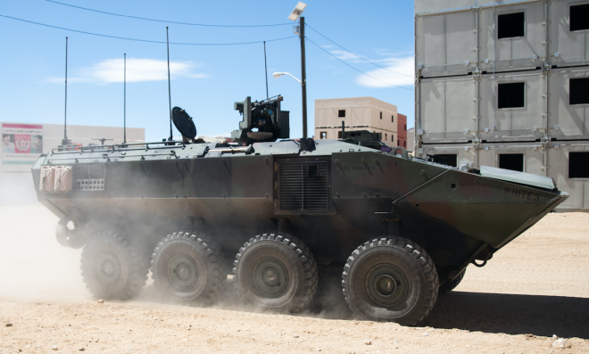 BAE Systems Tests Battle Management System in ACVs, As Company Mulls Future Upgrades and Variants
