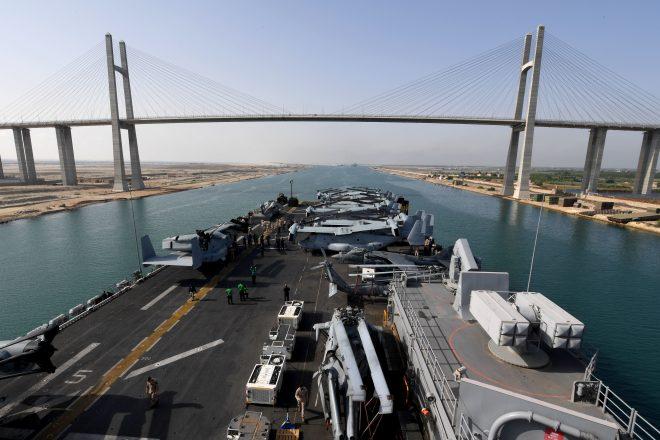 Iwo Jima Amphibious Ready Group in Middle East, Reagan Carrier Strike Group Begins WESTPAC Patrol