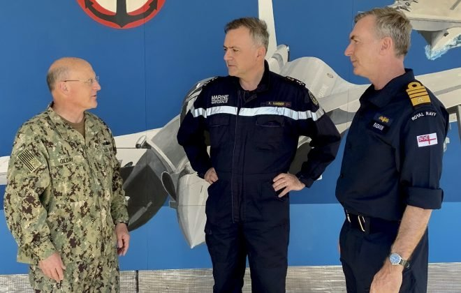 CNO Gilday Pledges Closer Working Relationships With British, French Navies