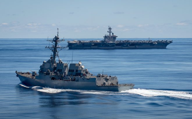 Panel: Budget Priorities Prompted Navy Cut to Forces to Prevent Hollow Fleet