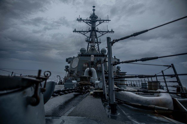 Destroyer Makes Sixth Taiwan Strait Transit During Biden Administration
