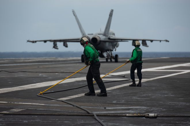 Reagan Carrier Strike Group Now in Indian Ocean, Heading to Middle East