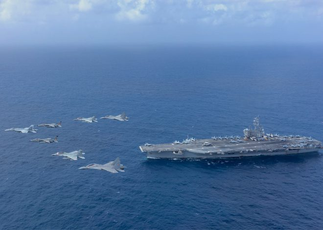 India, U.S. Navies Hold Complex Air and Sea Drills in the Indian Ocean, Kicking Off Several Summer Exercises