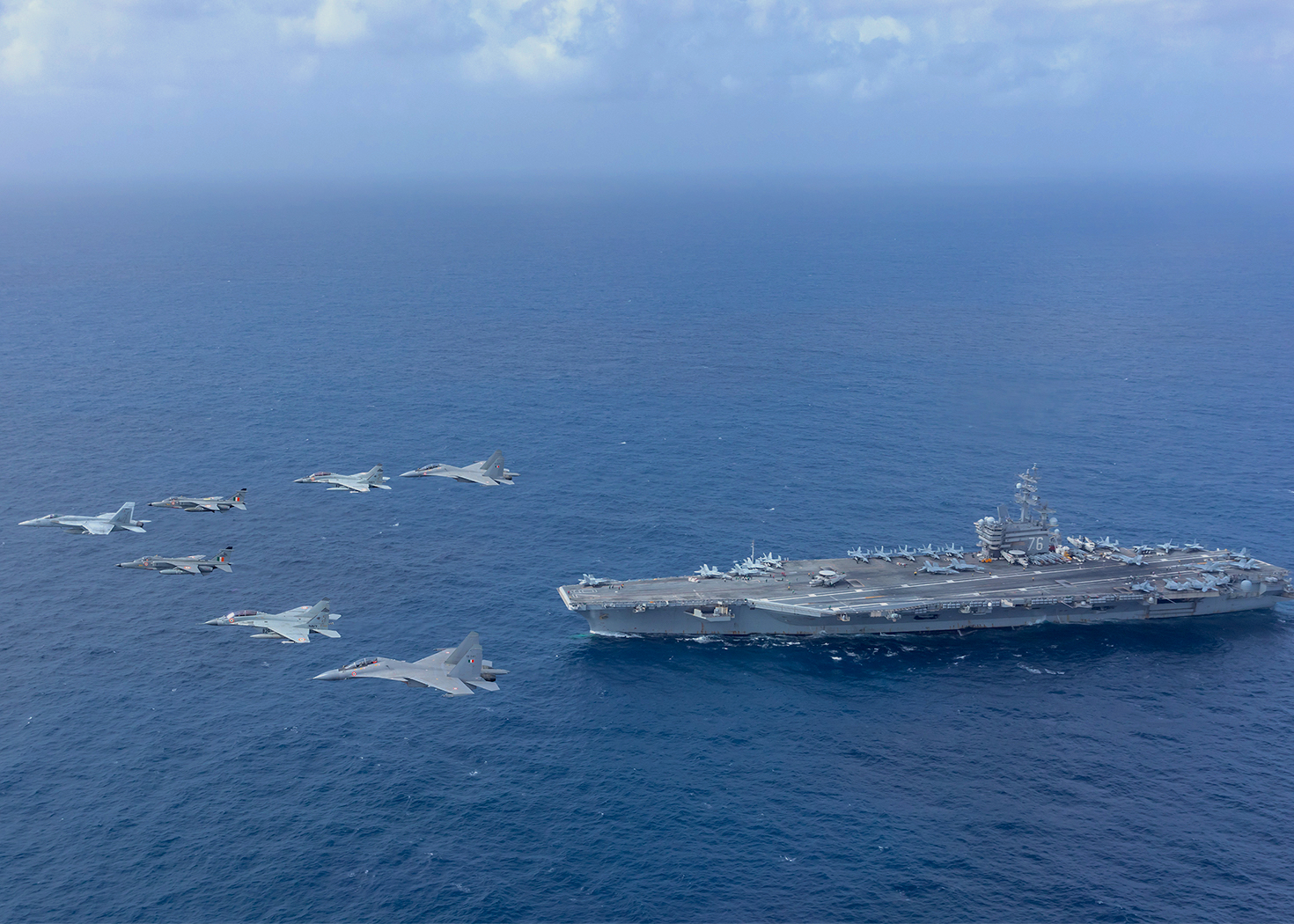 India, U.S. Navies Hold Complex Air and Sea Drills in the Indian Ocean, Kicking Off Several Summer Exercises - USNI News