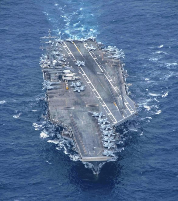 Japan-based USS Ronald Reagan Now in the Middle East to Cover Afghanistan Withdrawal