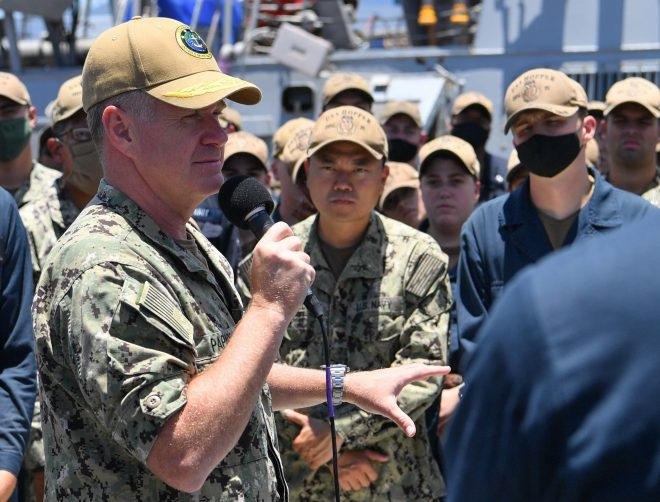 PACFLEET CO: Numbered Navy Fleets Don't Need to be Tied to Geography