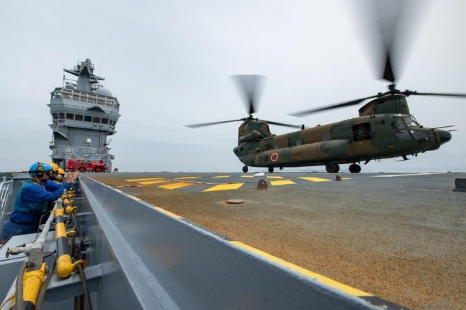 French Officials: Jeanne D'Arc Deployment Enhances Interoperability With Partners