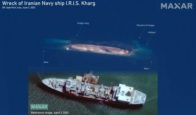 Loss of Iranian Navy Ship Mutes Tehran's Global Ambitions, 3rd Warship Lost Since 2018