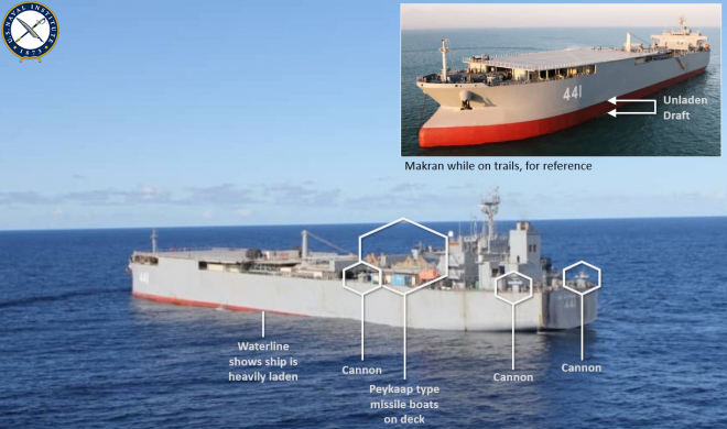 Iranian Warship Could Be Bringing Millions of Gallons of Fuel to Venezuela