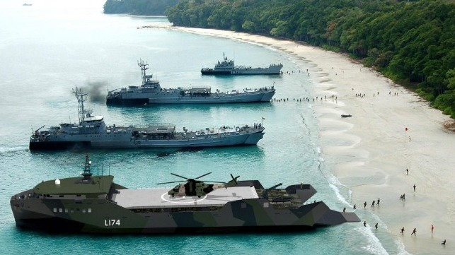 Navy Awards 5 Companies Light Amphibious Warship 'Concept Design' Contracts