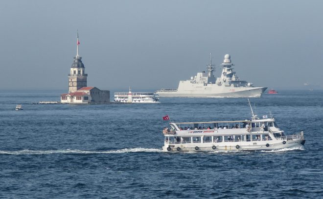 More NATO Ships Enter Black Sea While Tensions With Russia Simmer