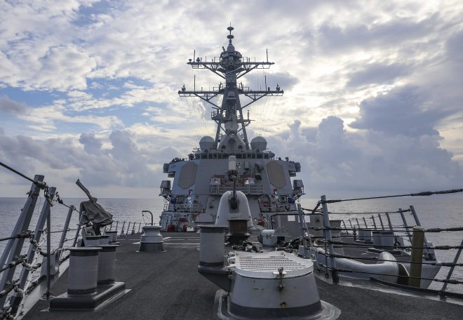 Navy Denies Chinese Forces Chased Away Destroyer During FONOP