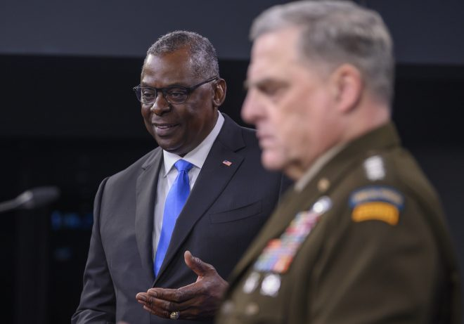 SECDEF Austin Headed to Southeast Asia as Tensions Flare in South China Sea